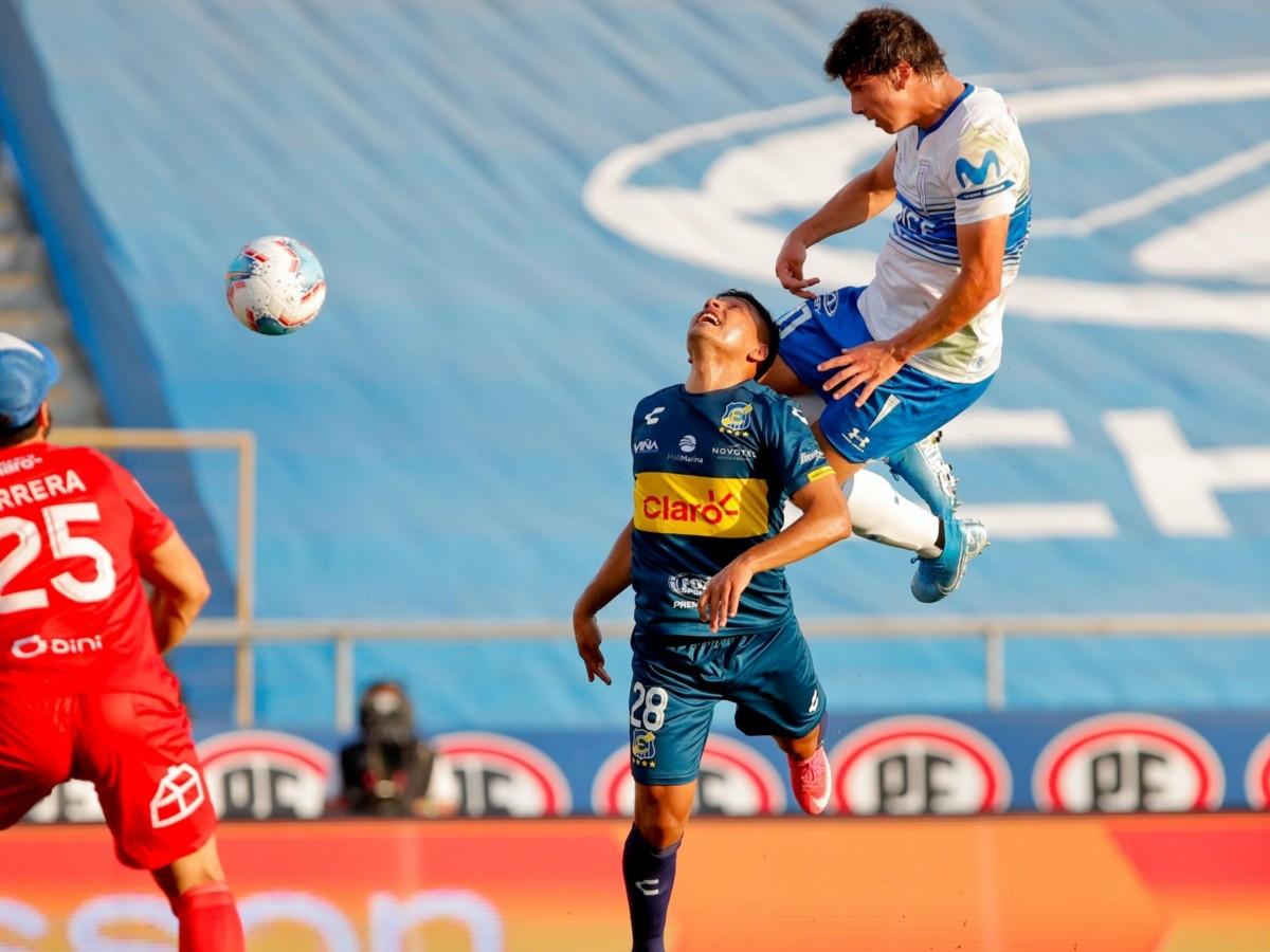 Universidad Católica vs Everton: Gonzalo Tapia marca su primer gol en el profesionalismo para darle el empate 1-1 a ala UC ante Everton   RedGol