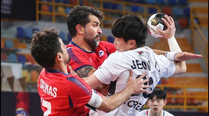Chile obtuvo su primer triunfo en el Mundial de Balonmano