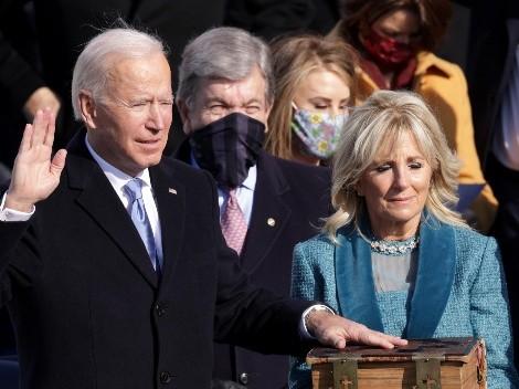 Joe Biden asume como Presidente de EE.UU.