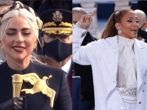 JLO y Lady Gaga lideran el show musical en el cambio de mando