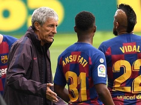 Quique Setién se chorea y lleva a Tribunales al Barça