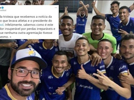 Chapecoense lamenta el accidente que enluta al fútbol de Brasil