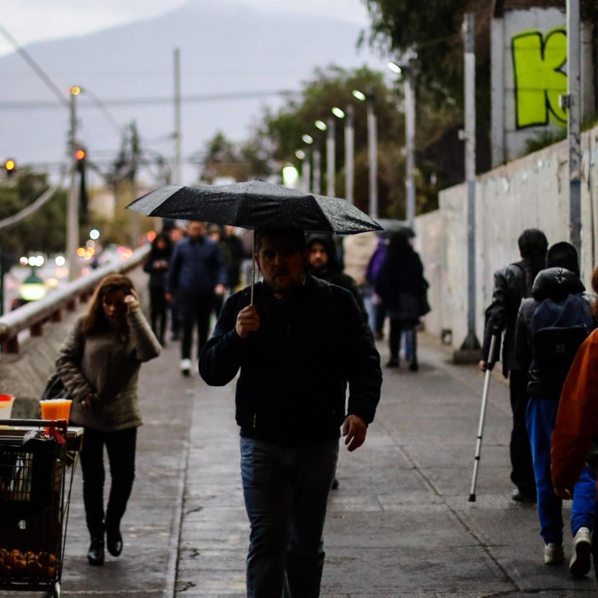 Lluvias Lluvias En Santiago A Qué Hora Llueve El Fin De Semana Cuándo Comenzará A Llover En Santiago Redgol
