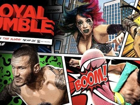 Horario: La WWE inicia este 2021 con una nueva versión del Royal Rumble