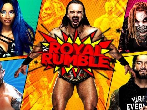 Los favoritos para Royal Rumble 2021