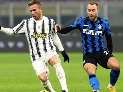 Juventus e Inter sin Sánchez ni Vidal definen al primer finalista de Copa Italia