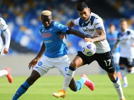 Semifinal Copa Italia: Napoli y Atalanta quieren jugar la final