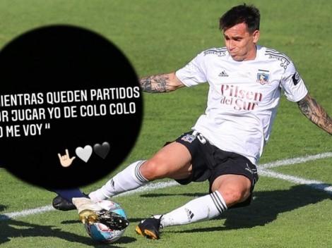 "Mouche: ""No me voy de Colo Colo mientras queden partidos"""