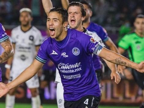 A lo Maripán: Nico Díaz también goleador en México