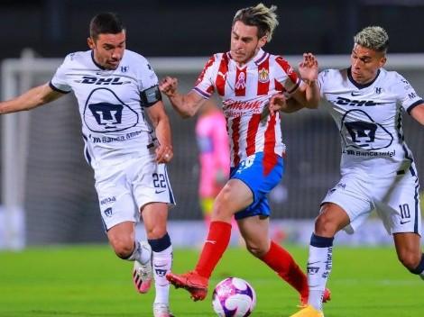 Chivas y Pumas se enfrentan en Guadalajara por la 8° fecha del Clausura