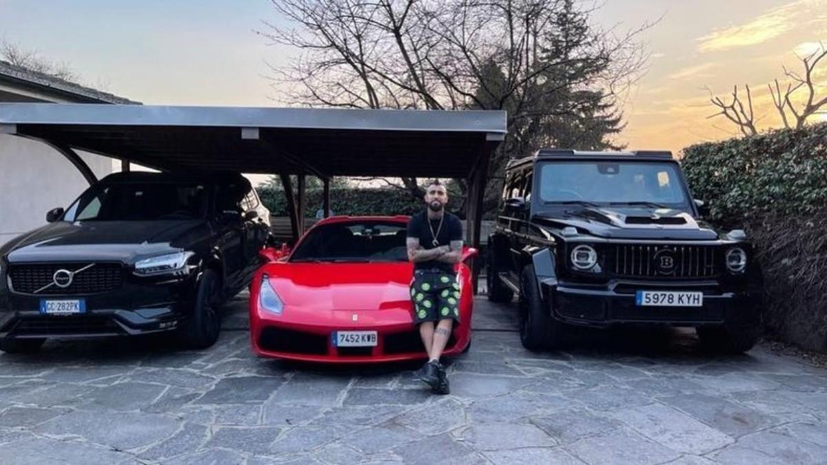 Arturo Vidal y su colección de autos de lujo: Ferrari, Volvo y Brabus, la  rompen en Italia   RedGol