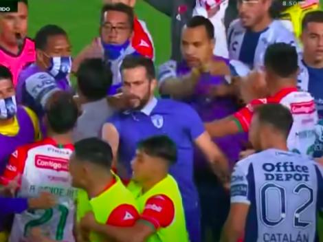 Necaxa de Delgado, Leiva y Carvallo a los combos con Pachuca