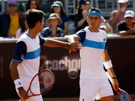 La dupla chilena Barrios-Tabilo busca llegar a semifinales del ATP 250