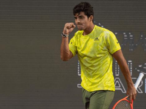 Garin sigue en llamas y está en semis del Chile Open