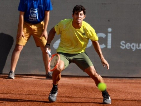 Cristian Garin apunta al título del ATP de Santiago