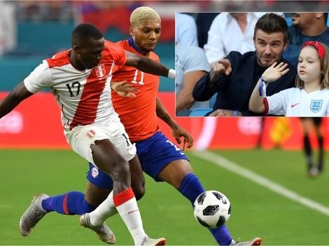 Chile jugará ante Perú y el equipo de Beckham en EEUU