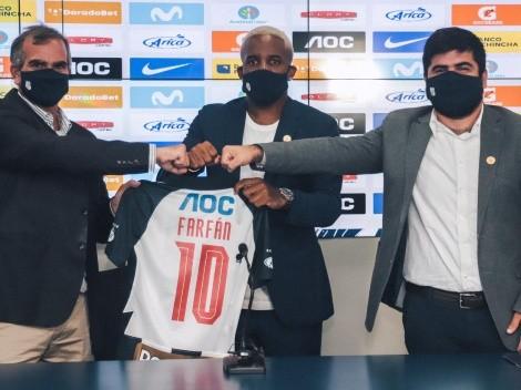 Oficial: Farfán rompe el mercado en su regreso a Alianza Lima