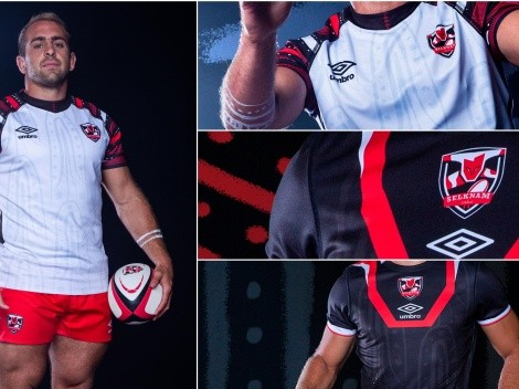 Selknam estrena nueva piel ante Jaguares: Equipo de rugby chileno presenta nueva camiseta junto a Umbro