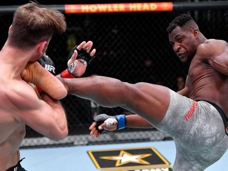 ¡Con KO! Ngannou es el nuevo campeón de Peso Completo