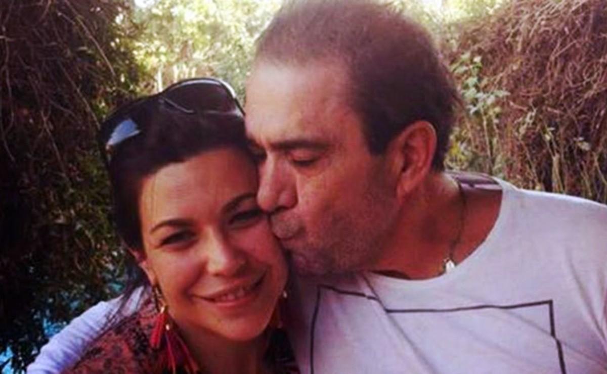 Daniela y Eduardo Bonvallet.