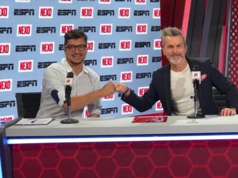 ¡Otra bomba de ESPN! Nico Peric se suma a NEXO