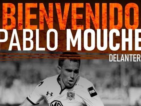 Mouche firma en club recién ascendido del fútbol uruguayo