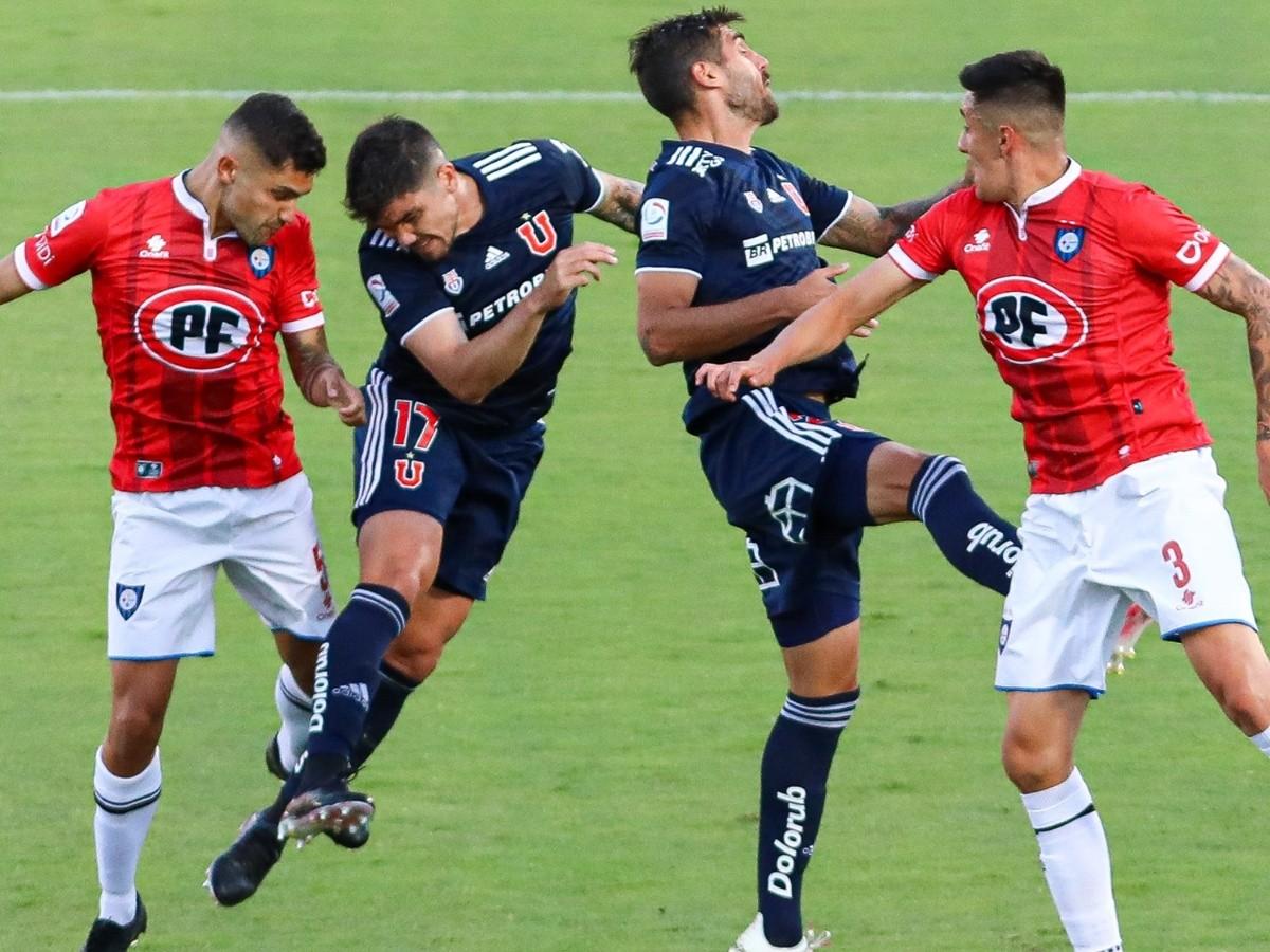 Universidad de Chile | Estadísticas del enfrentamiento de los azules con Huachipato por el Campeonato Nacional | RedGol