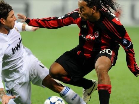 """Ramos: """"No volveremos a ver un jugador con la magia de Ronaldinho"""""""