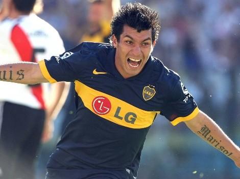 Gary Medel en el 11 titular del Boca Juniors de los sueños