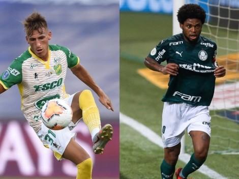 Horario: Palmeiras y DyJ animan la final ida de la Recopa