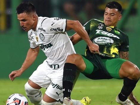 Palmeiras vence a Defensa y Justicia a domicilio