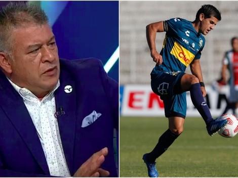 Borghi hasta la coronilla con el tema Barroso en Colo Colo
