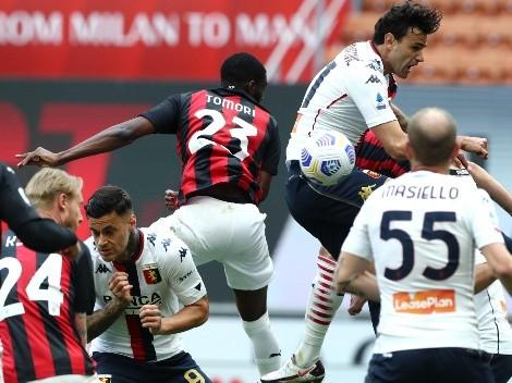 Desafortunado autogol le da la victoria al Milan que no se resigna
