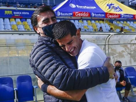 Así fue el conmovedor abrazo de Julio Barroso a Gustavo Quinteros