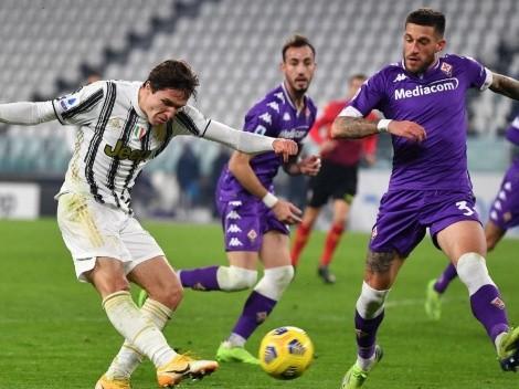 Juventus quiere asegurar cupo internacional frente a la Fiore de Erick Pulgar