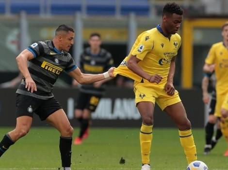 Prensa italiana pide más minutos para Alexis en el Inter