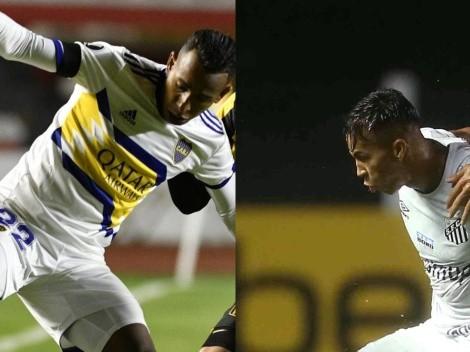 Boca y Santos protagonizan uno de los partidos más interesantes de la fase de grupos