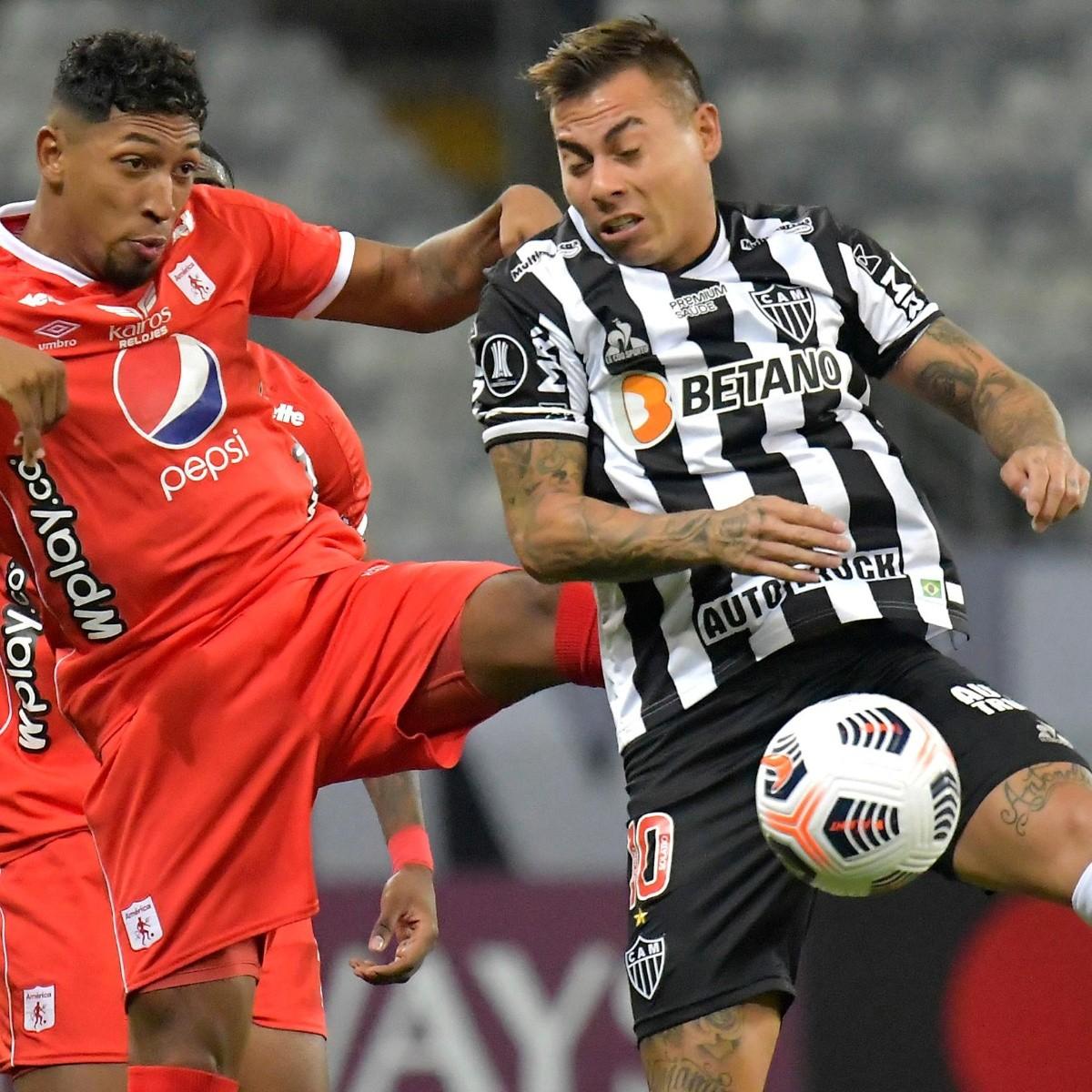 Atlético Mineiro vs América de Cali | RESUMEN, RESULTADO y GOLES del  partido de Eduardo Vargas en Copa Libertadores | RedGol