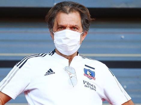 Mosa aparece en la comisión fútbol de Colo Colo