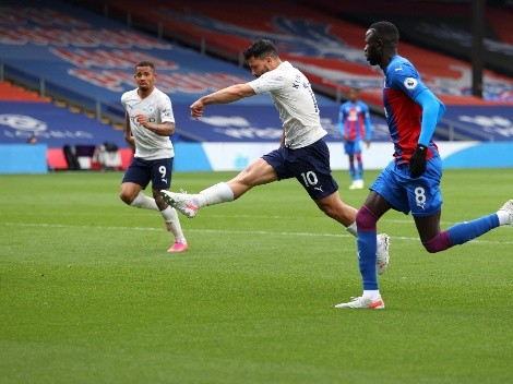 El City se guarda titulares y acaricia el título con gol del Kun