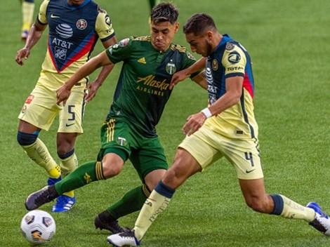 Portland y Felipe Mora se despiden de la Concachampions
