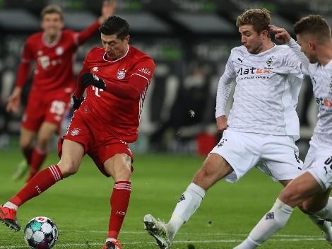 Bayern puede ser campeón esta fecha y recibe al M'Gladbach