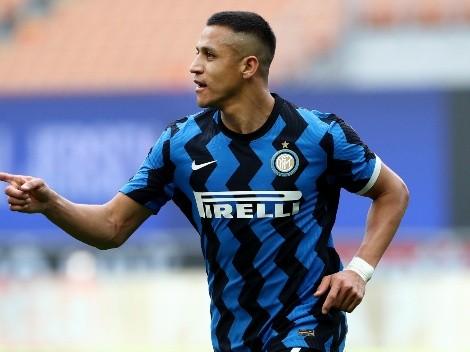 Alexis maravilla al mundo con un doblete en el Inter