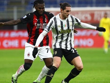 Juventus y AC Milan se miden en una nueva edición del Derby dei Campioni