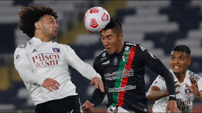 Palestino venció a Colo Colo en un partido caliente en el Monumental.
