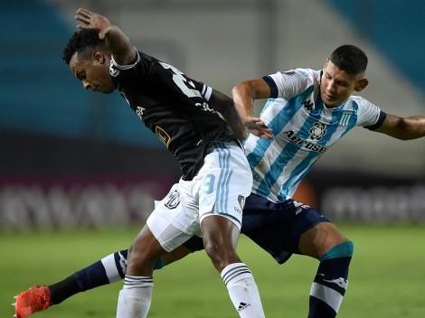 Racing de Díaz y Arias se enfrenta con Sporting Cristal en Perú