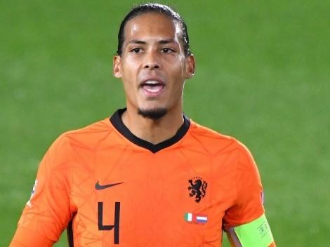 """Virgil van Dijk confirma que se pierde la Euro: """"Estoy destrozado"""""""