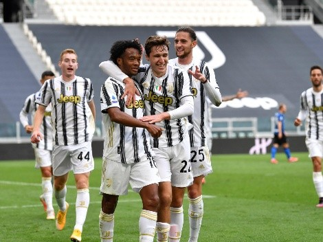 Juventus derrota al Inter en el clásico y se acerca a Champions