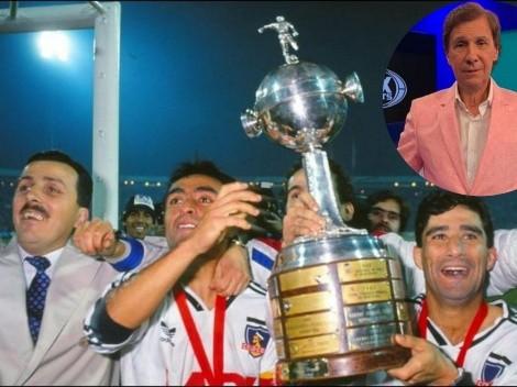 Bambino Pons cuenta que se enamoró de Colo Colo en el 91