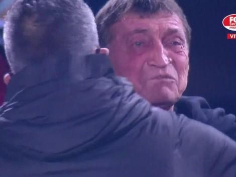 Falcioni rompe en llanto tras victoria de Independiente en penales